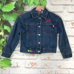 🌷Barbie Blue Denim Jacket Size 8 Girls🌷